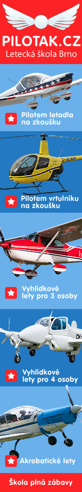 Piloťák.cz - Letecká škola, Pilotem letadla na zkoušku, vyhlídkové lety, akrobatické lety.